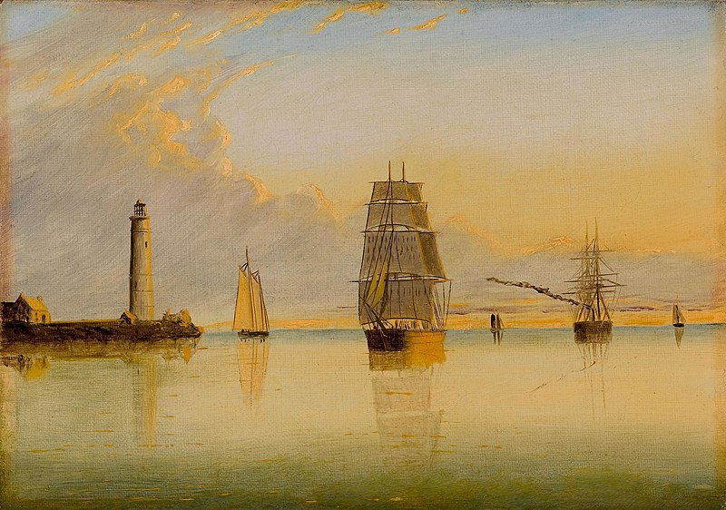 800px-1879_Morning_Off_Boston_Light_byCl