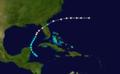 1880 Atlantic hurricane 9 track.png