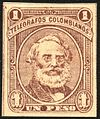 1882 1p telegraph stamp Colombia Samuel Morse.jpg