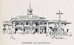 1886, España, sus monumentos y sus artes, su naturaleza e historia, Castilla La Nueva, vol 3, Ayuntamiento de Escalona, Pascó.jpg