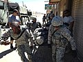 189th IN trainers work with Calif. Guard Transportation Unit at NTC 140723-A-KI791-014.jpg