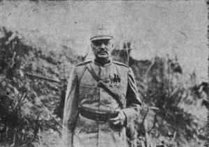 Ernest Broșteanu - Image: 1918 Generalul Ernest Brosteanu Comandantul Diviziei din Basarabia
