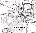 1920 map Jacksonville, Florida Automobile Blue Book.jpg