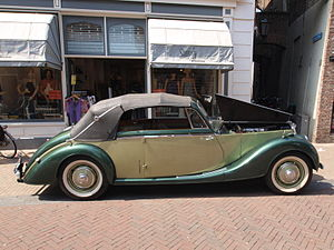 Riley Motor - RMD 2½-litre drophead coupé 1950