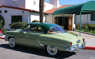 Studebaker Starlight - 1952 Commander Starliner Hardtop