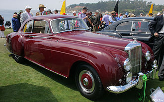 H. J. Mulliner & Co. - 2-dr lightweight sports saloon 1954 on a Bentley Continental chassis