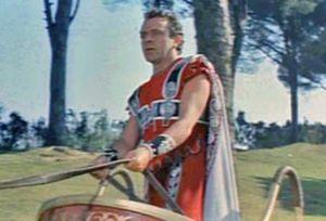Richard Burton in the movie Cleopatra (1963)