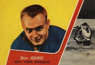 Don Johns - Image: 1963 Topps Don Johns