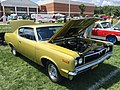 1970 AMC Rebel - The Machine - muscle car in Golden Lime AMO 2015 meet 2of8.jpg