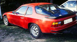 Porsche 924 - Porsche 924 from 1976
