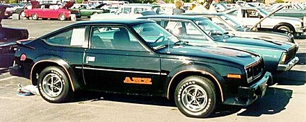 1980 AMX finished in Classic Black - AMC Spirit