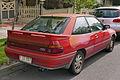 1990 Ford Laser (KF) TX3 3-door hatchback (2015-11-11) 02.jpg