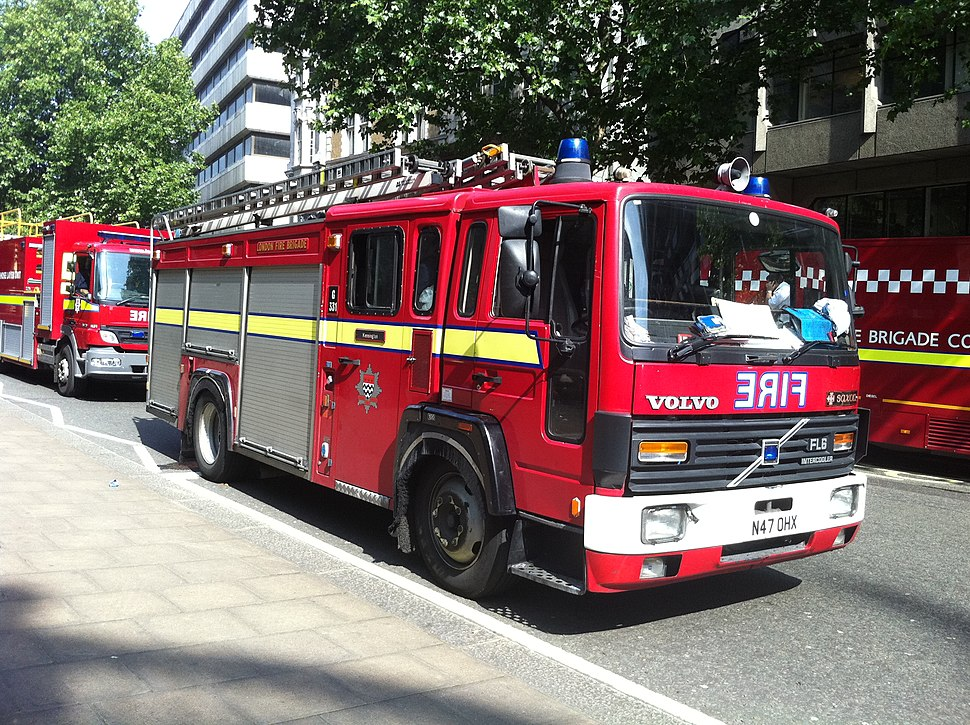 1995 London Fire engine