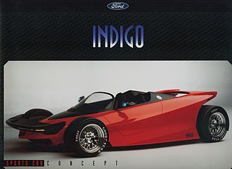 Ford Indigo - Image: 1996 Ford Indigo Concept Sports Car