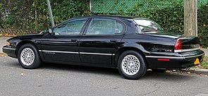 1997 Chrysler LHS, rear left side.jpg