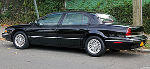 Chrysler LHS - Image: 1997 Chrysler LHS, rear left side