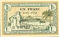 1 franc - 1943 - Tunisia - obverse.jpg