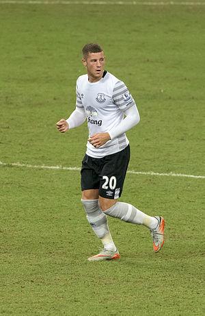 Ross Barkley - Barkley playing for Everton in 2015