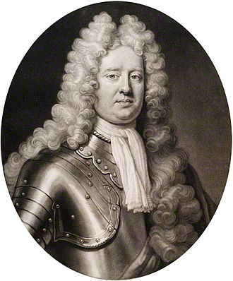 David Boyle, 1st Earl of Glasgow - 1711 engraving of the Earl by John Smith based upon a Jonathan Richardson portrait