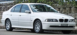 BMW 5 Series (E39) - Image: 2000 2003 BMW 525i (E39) Executive sedan (2010 10 02) 01
