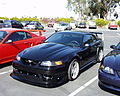 2000 Cobra R black fake left front with original.JPG
