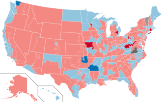 United States House of Representatives elections, 2000 - Image: 2000 House Elections in the United States