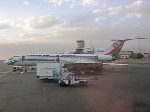 Eram Air - Tupolew 154M of Eram Air at Mehrabad Airport in Tehran on November 12, 2007