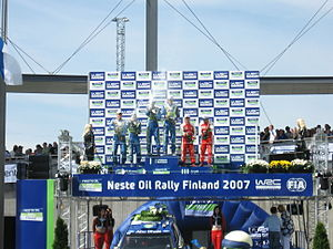 2007 Rally Finland podium 13.JPG