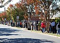 2008 Presidential election early voting lines, Charlotte (2989096149).jpg