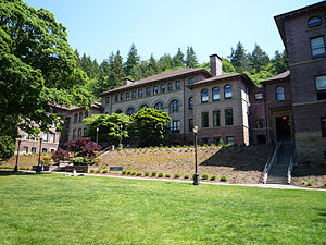 Old Main, Western Washington University, Belli...