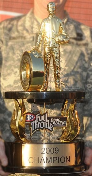 National Hot Rod Association - 2009 Top Fuel trophy