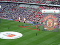 2009 FA Community Shield - teams enter the stadium.JPG
