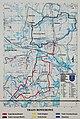 2012 Powiat pszczyński, Pawłowice, Mapa szlaków rowerowych (03).jpg