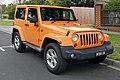 2013 Jeep Wrangler (JK MY13) Overland 3-door hardtop (2015-08-07).jpg