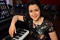 2014-05-22 Landesbildungszentrum für Blinde, Besuch vom Freundeskreis Hannover, (117) Marina Baranova nach ihrem Konzert am Bechstein-Flügel.jpg