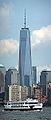2014-08-26 One World Trade Center (1WTC) seen from Ellis Island.jpg