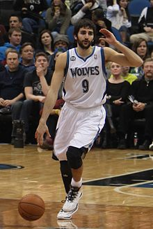 Ricky Rubio - de coole en charmante basketballer met Spaanse roots in 2017