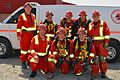2014 Ontario Mine Rescue Provincial Competition Champions, VALE East Mines.jpg