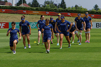 Australia women's national rugby union team - Australia at the 2014 Women's Rugby World Cup.