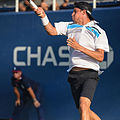 2015 US Open Tennis - Qualies - Jose Hernandez-Fernandez (DOM) def. Jonathan Eysseric (FRA) (20965766435).jpg