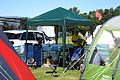 2016 Broadstairs Folk Week band musicians' campsite at Broadstairs Kent England 5.jpg