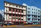 2016 Rangun, Ulica Anawratha, Szkoła Średnia Podstawowej Edukacji nr 5 i Świątynia Arya Samaj (02).jpg