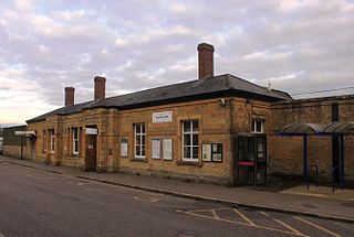 Yeovil Pen Mill railway station Railway station in Yeovil, England