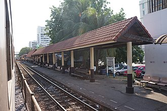 Sam Sen railway station - Image: 201701 Sam Sen Station