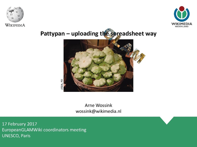 File:20170217 European GLAMwiki Coordinators meeting Pattypan.pdf