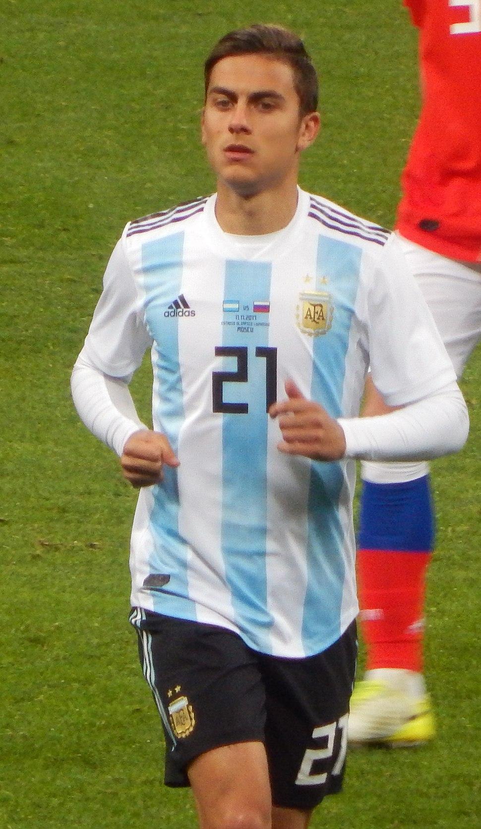 2017 FRIENDLY MATCH RUSSIA v ARGENTINA - Paulo Dybala 01