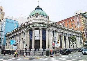 Hibernia Bank Building (San Francisco) - Image: 2017 Hibernia Bank 1 Jones Street