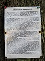 2018-07-24 Information notice, Shrieking pit, Hungary Hill, Northrepps.JPG
