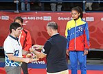 2018-10-07 Judo Girls' 44 kg at 2018 Summer Youth Olympics – Victory ceremony (Martin Rulsch) 12.jpg