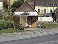 2018-10-22 (402) Bus stop Weinern Kirche in Groß-Siegharts, Austria.jpg